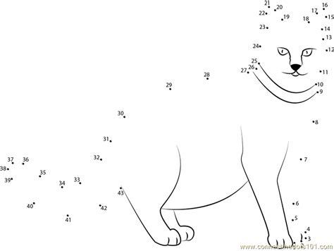 connect  dots fat cat animals cat dot  dots