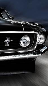 1969 Mustang iPhone 5 Wallpaper (640x1136)