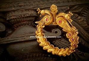 Mesh Design Peacock Designer Royal Kada Latest Indian Jewellery Designs