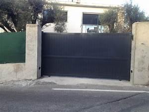Portail De Garage Coulissant : apg portes de garage portails alpes maritimes 06 page 3 ~ Edinachiropracticcenter.com Idées de Décoration