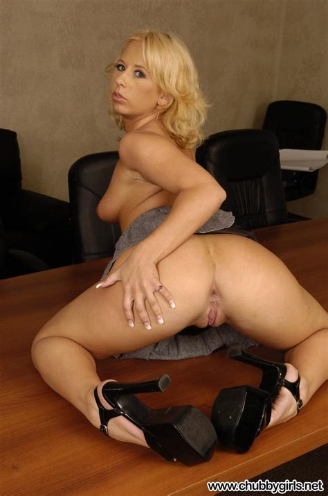 Curvy Blonde Hottie Georgia Is Your Super Naughty Secretary For The Day Coed Cherry