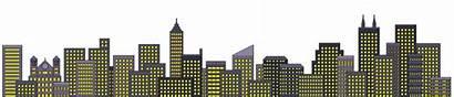 Skyline Superhero Pixel Transparent Building Template Buildings