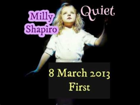 milly shapiro youtube quiet milly shapiro 8 3 13 first youtube