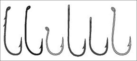 types  fishing hooks dummies