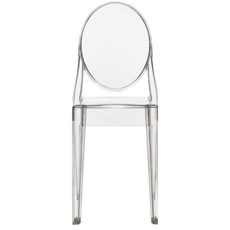 chaise ghost starck ghost chair kartell