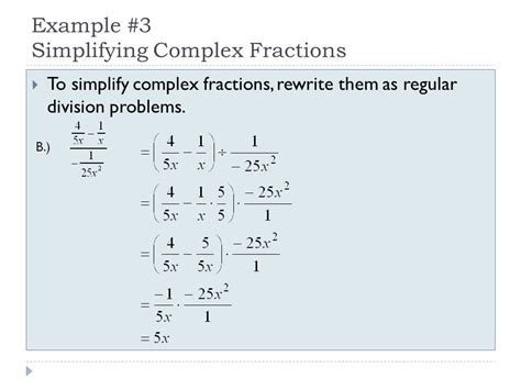 Adding, Subtracting, Multiplying, & Dividing Rational Expressions  Ppt Video Online Download