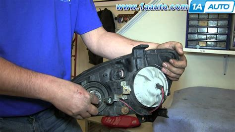 how to install remove change headlights and bulb 2002 06