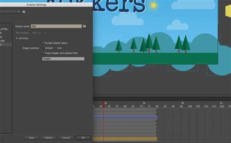 Is there a good tool for this? The difference between expoting SVG from Adobe animate and ...