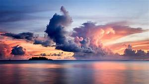 Clouds, Over, The, Sea, 8k, Mac, Wallpaper, Download