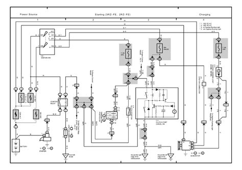 horn on wiring diagram 1996 toyota tacoma toyota auto