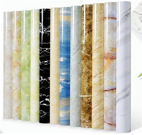 Window Sill Adhesive by Thick Marble Pattern Self Adhesive Wallpaper Wallpaper