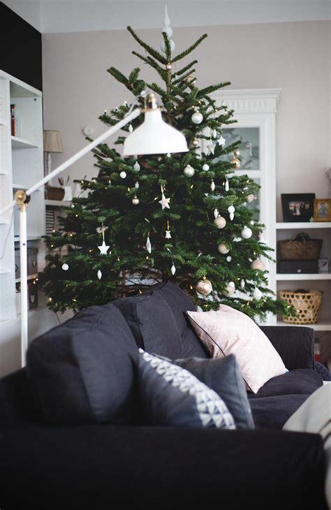 Weihnachtsbaum Schmücken  Schöne Ideen Wohnkonfetti