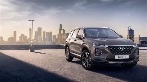 2019 Hyundai Santa Fe Suv Gets Bold, Techforward Look
