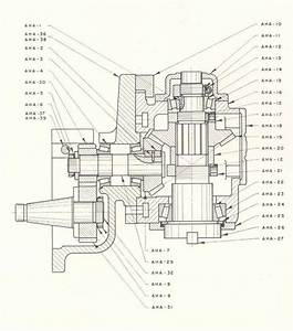 Cinci Universal Milling Attachment Parts Diagram