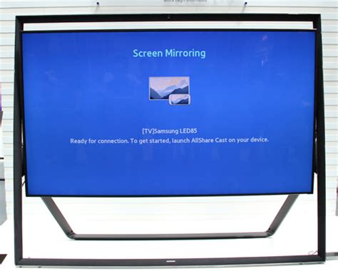 screen mirroring to samsung tv samsung s new 2013 smart tvs the a grade f series