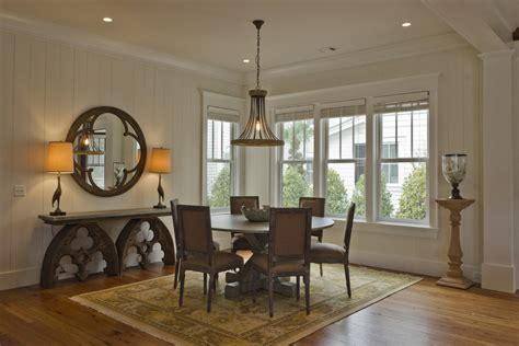 wall decor  mirrors ideas dining room rustic