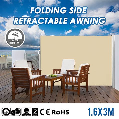 xm aluminium frame folding side retractable awning awnings outdoor leisure