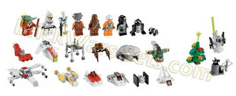 lego star wars advent calendar minifigures minis revealed