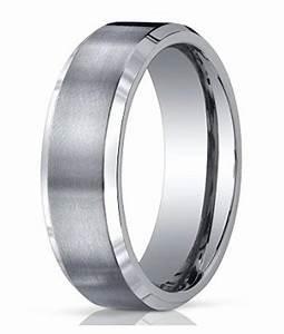 7mm Men39s Benchmark Titanium Wedding Band With Satin