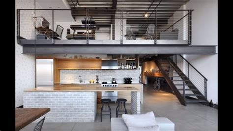 Apartment With Loft Seattle by Minimalistic Industrial Loft Apartment Seattle