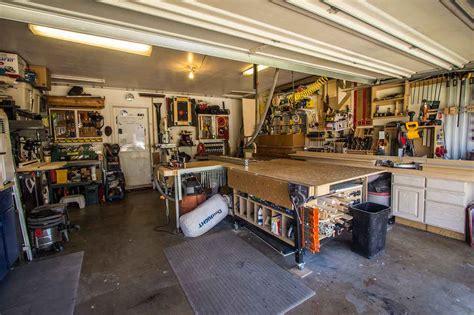 anthonys garage woodshop  wood whisperer
