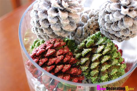 diy friday christmas pine cone centerpiece