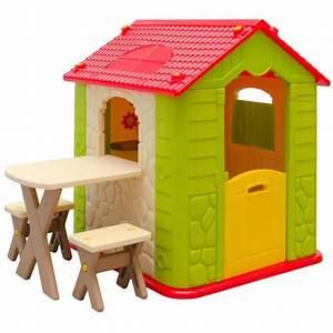 maison de jeu en plastique maison de jardin pour enfants With maison d enfant exterieur