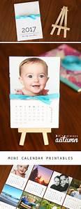 Printable Calenders Diy Mini Photo Calendar W Free Printables It 39 S Always Autumn