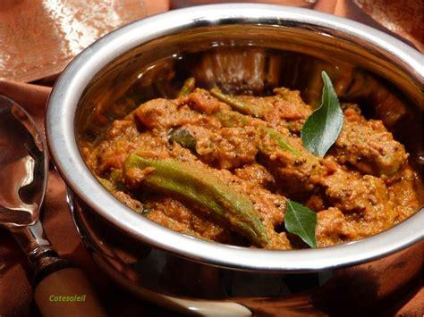 cuisiner le gombo gombos a l 39 indienne ou okra aux sept epices inde côté