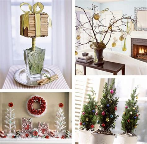 Decorative Christmas Tabletop Decorations Layouts