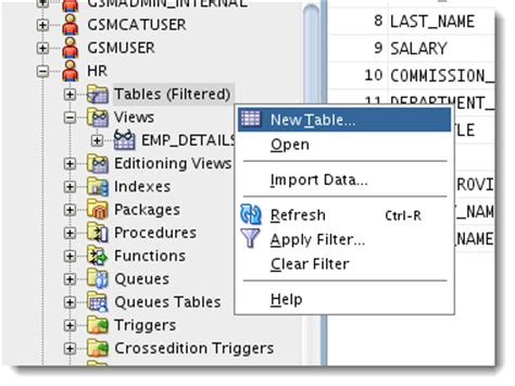 create new table sql new and improved create table dialogs in oracle sql