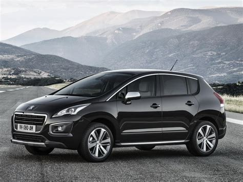 peugeot company car 2014 peugeot 3008 facelift revealed cars co za
