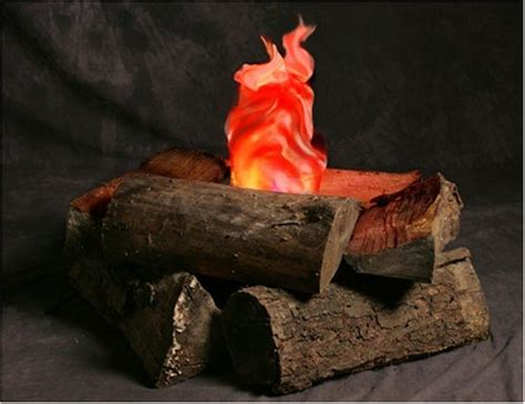 Indoor Fire Pit Indoor Campfire An Artificial Flame Fake