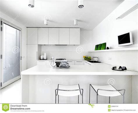 white modern kitchen stock photo image  horizontal