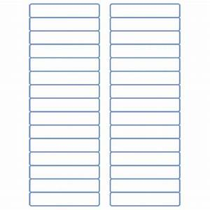 "File Folder Labels - Laser Labels - Inkjet Labels - 2/3"" x ..."