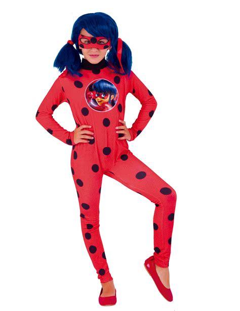 ladybug lizenzkostuem miraculous kinderkostuem rot schwarz