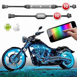 Premium 10 Strip 10 Pod Ios Android App Wifi Control Led
