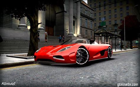 Gta Car Png by Gta 4 Koenigsegg Agera R Epm V 1 5 Mod Gtainside