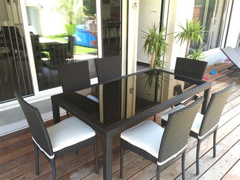 table et chaises de jardin pas cher table exterieur jardin table et chaise de jardin en bois
