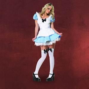 Alice Im Wunderland Kleidung : fasching kost m damen sexy alice im wunderland 2 teilig hellblau wei ebay ~ Frokenaadalensverden.com Haus und Dekorationen