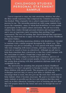 steps  write  winning early childhood education
