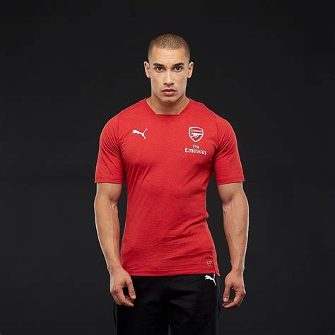 puma arsenal fc  casual performance tee ss mens