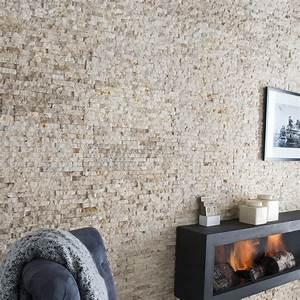 Leroy Merlin Plaquette De Parement : plaquette de parement pierre naturelle beige canyon ~ Dailycaller-alerts.com Idées de Décoration