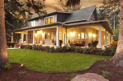 homes  bend oregon homeland design llc porch house plans craftsman house plans big porch