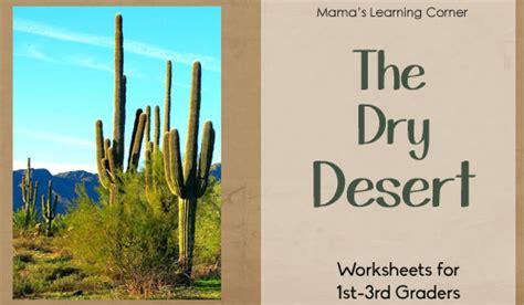 desert worksheet packet  st  graders mamas