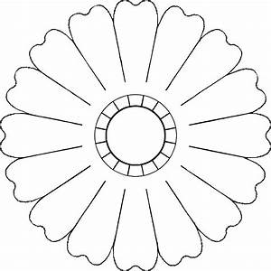 Flower Outline With 8 Or More Petals - ClipArt Best