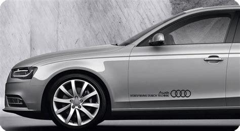 Detailkorea Vorsprung Durch Technik Audi Slogan Car Decal