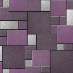 Papier Peint Effet Cuir : nouveau muriva cuir carr motif fausse effet en relief ~ Dailycaller-alerts.com Idées de Décoration