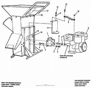 Simplicity 1692335  12 Chipper  Shredder Parts Diagram