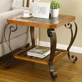 How big of a set would i need? Slate End Table from Big Lots   Furniture, Table, Home decor